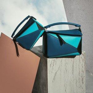 最高返$12,000礼卡+新人8.5折即将截止:Loewe 新款配色包包热卖,收Gate马鞍包、Puzzle新款拼色