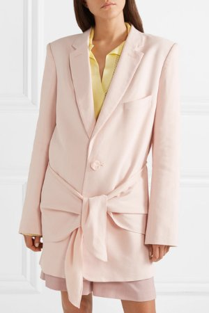 Tibi   Oversized twill blazer   NET-A-PORTER.COM
