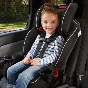 8折 窄款,适合小型车使用Graco官网 Slimfit系列儿童安全座椅特卖 4Ever平价替代款