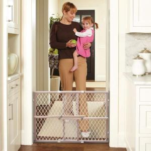 """$17.57(原价$18.88)North State 楼梯安全防护栏,安全隔断 妈妈放心专""""拦"""""""