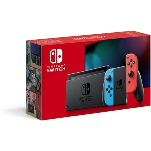 Nintendo经典红蓝配色Switch 游戏机