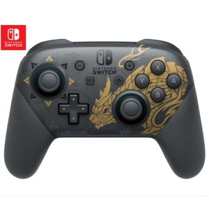 限时$89Nintendo Switch Pro 游戏手柄 怪物猎人限定版