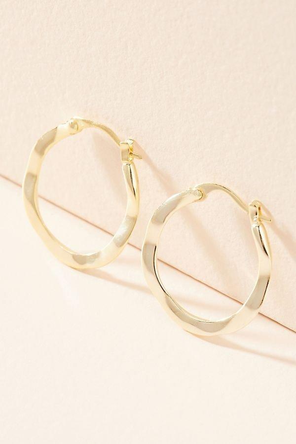 金属风耳环