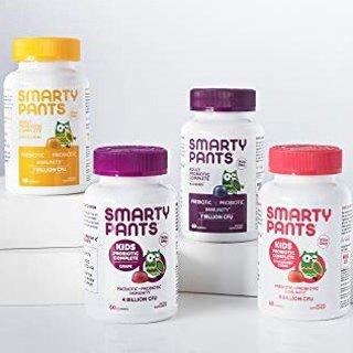 额外7折+包邮SmartyPants 儿童综合维生素、益生菌软糖特卖