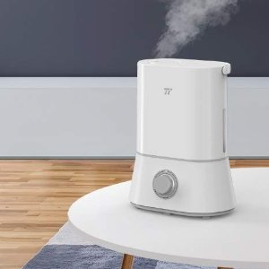 $49.99(原价$77.99)独家: TaoTronics 超声波静音冷雾加湿器4L大容量