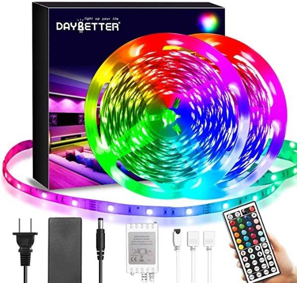 LED灯带 40FT,RGB 带红外遥控器