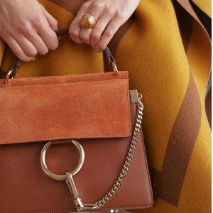 低至4折+额外8.5折 £438收C扣包Chloe 折扣区折上折闪促 Faye包包、C扣包等都参加