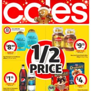 半价购夏日最爱-冰淇淋Coles 本周最新打折图表 11月8日-11月14日