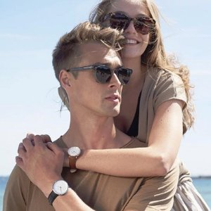 全场8折 情侣表来一对儿Nordgreen北欧风极简手表七夕热卖 淑女色系有点美