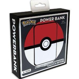 现价 £8.98 (原价£19.99)Pokemon 精灵球款 5000 mAh 充电宝