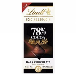 $21.36Lindt Excellence Bar, 78% Cocoa Dark Chocolate, 3.5 Ounce (Pack of 12)