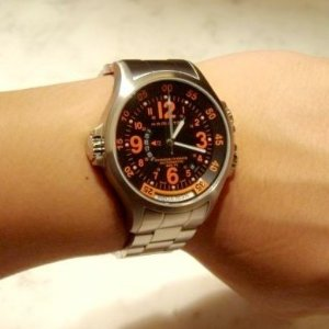 $429Hamilton Men's Khaki Aviation GMT Air Race Watch Model: H77665173