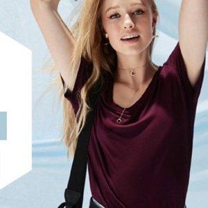 2件仅$40 长短袖任意搭配闪购:Sportsgril 女款打底T恤 反季促销