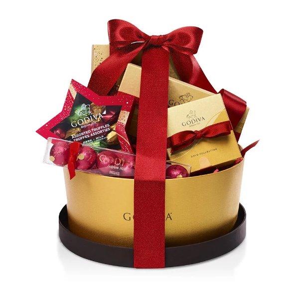 巧克力圣诞礼品篮