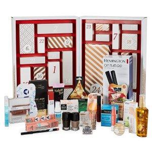 24件好礼仅€59.95Amazon Beauty 圣诞日历 含Babor安瓶、雅顿金胶、直板夹