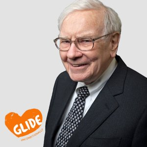 Starting from $25,000Power Lunch with Warren Buffett to Benefit GLIDE  Listed for charity