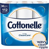 Cottonelle Ultra CleanCare 厕所纸 36卷=112卷