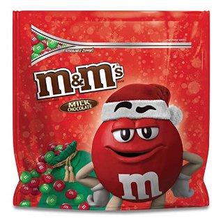 $7.18M&M'S 圣诞节装牛奶巧克力 42oz