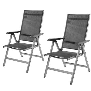 AmazonBasics 露台椅子 2把 5.2折特价