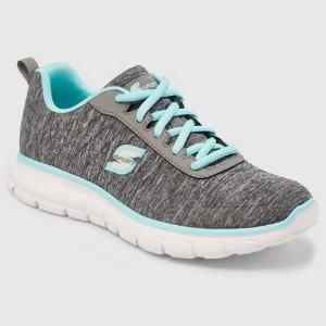 2a6f1df0d08 SkechersWomen s S SPORT by SKECHERS Loop Spacedye Heathered Sneakers - Gray