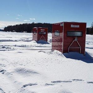 $55.25(原价$90) 享额外8.5折独家:Ogopogo 度假区双人冰钓 体验纯正加拿大野趣