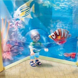 新用户注册享8.5折playmobil 德国儿童拼装玩具 想带你去看海豚