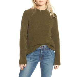 MadewellNorthfield Mock Neck Sweater