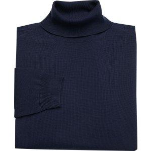 Traveler Collection Merino Wool Turtleneck Sweater - Traveler Merino Wool Sweaters | Jos A Bank