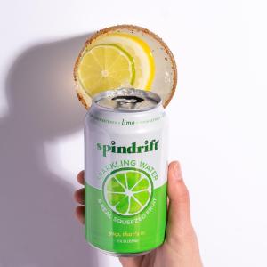 $11.98起 一罐只需$0.5Spindrift 高颜值果味气泡水 12 oz. 24罐