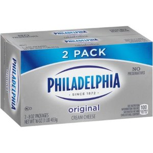 Philadelphia Original Cream Cheese, 8 oz, 2 ct - Walmart.com