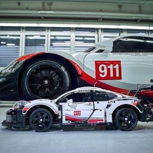 Lego保时捷 911 RSR - 42096 | 机械组系列