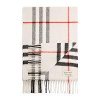Burberry 羊绒格子围巾
