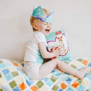 新生儿尿不湿低至$0.28/片Pampers 帮宝适 宝宝尿不湿 拉拉裤 儿童安睡裤热卖