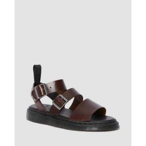 Dr. Martens43/44/45码双扣凉鞋