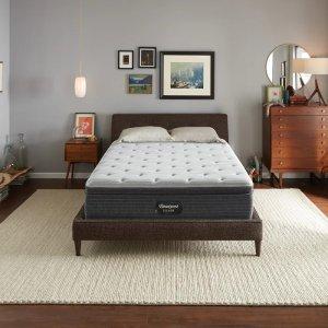 Simmons睡美人银标一级BRS900硬床垫带euro top