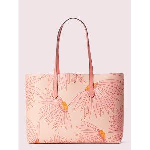 Kate Spade花朵tote包