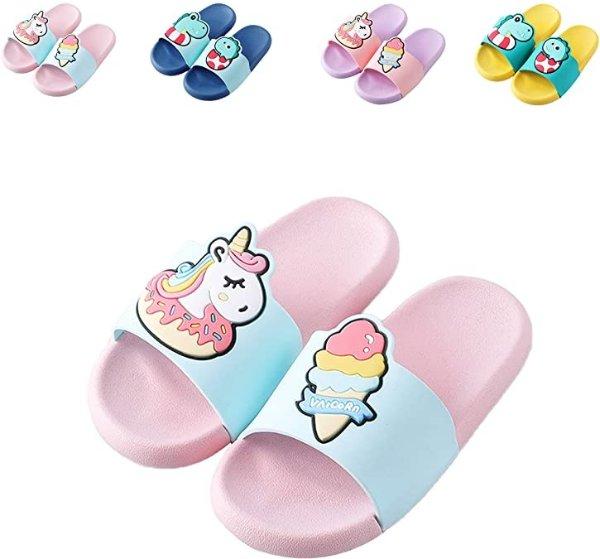 女童防滑鞋 独角兽款