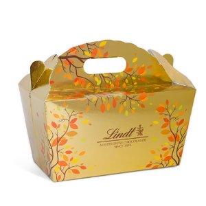 LindtCreate Your Own LINDOR Truffles Shades of Gold Fall Tote (150-pc, 63.4 oz) | LindtUSA