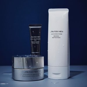 20% Off+Free GiftWith Men's Skin Care @ Shiseido