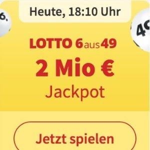 周三/六开奖  6次机会仅€1Lotto 6aus49 奖金累计200万欧元 无需身份验证 快试试运气