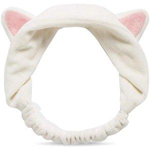 $8.95(原价$11.42)Etude House 伊蒂之屋 猫耳朵发箍 洗脸必备神器 景甜同款