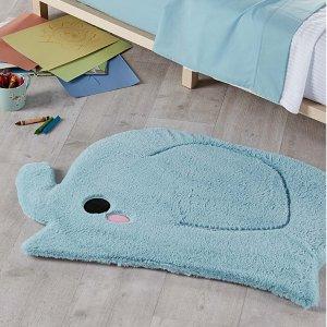低至4.5折,$9收封面款地毯免邮!Simons 可爱靠枕,地毯,等家居单品特卖