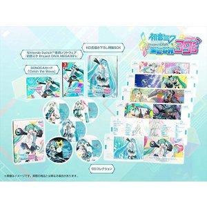 Sega初音ミク Project DIVA MEGA39's(メガミックス) 10thアニバーサリーコレクション 【限定版同梱物】・CDコレクション(5枚組)・主題歌「Catch the Wave」がDL出来るSONOCAカード・KEI氏描き下ろし特製BOX 同梱 – Switch