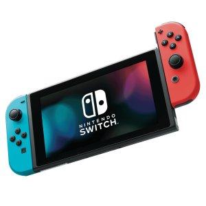 $339 (原价$469)+回国可退税手慢无:Nintendo 任天堂 Switch 游戏机 经典红蓝配色