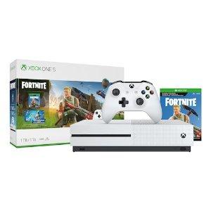 $199.99 + $60 kohl's cashBlack Friday Sale Live: Microsoft Xbox One S 1TB Fortnite Bundle