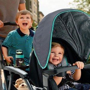 全部8折 封面双人童车半价$168最后一天:GRACO 童车、安全座椅、旅行套装等特卖