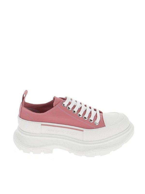 粉色厚底鞋