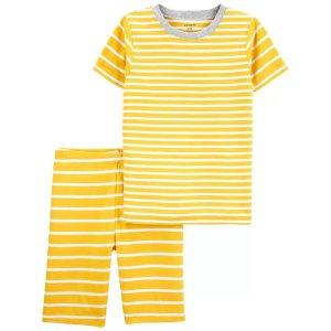 Carter's儿童条纹居家服