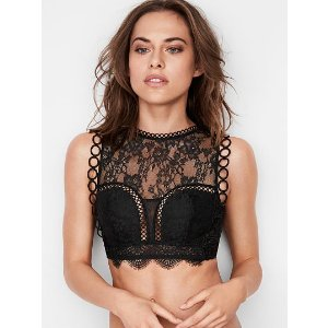 Lace High-neck Bralette