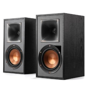 KlipschKlipsch R-51PM Powered Bluetooth Bookshelf Speakers - Pair (Black)
